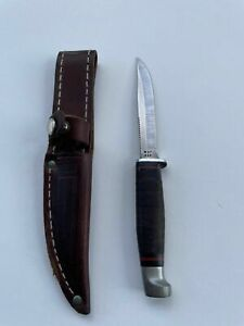 Case xx vintage 1987 M3F bird and trout knife with sheath.