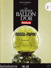 La Légende du Ballon d'Or N°5 - DVD + Fascicule - Rossi & Papin - 2008