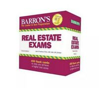 Barron's Real Estate Exam Flash Cards by Jack P. Friedman Ph. D. Cre Mai Cpa d3