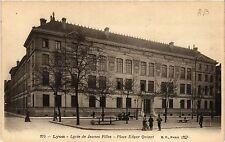 CPA Lyon-Lycée de Jeunes Filles, Place Edgar Quinet (427144)