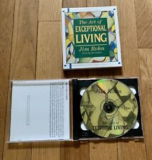 The Art Of Exceptional Living By Jim Rohn - Audiobook CD Set - Great Condition!