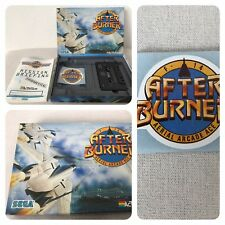 Msx Game Game After Burner Sega ACTIVISION MSX-cassette-sticker