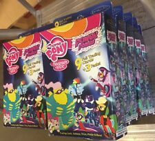 My Little Pony Power Ponies 10 Box Lot. Trading Cards, Tattoos And More Birthday