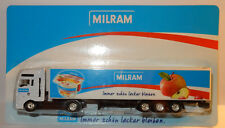 GRELL HO 1/87 CAMION REMORQUE TRUCK TRAILER MAN TGA MILRAM YAOURTS AUX FRUITS