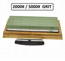 More details for 2000/5000 grit razor cutting edge blade sharpening honing whetstone water stone