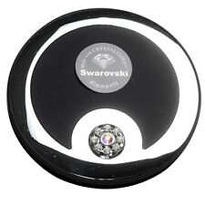 Taylor Madison Small Round Compact Mirror - Black Velvet - Pickup available