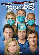 Scrubs Complete Ninth and Final SSN 0786936803297 DVD Region 1