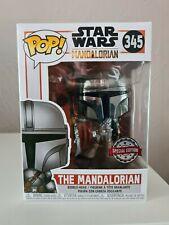 Funko Pop! Star Wars - The Mandalorian Chrome #345