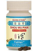 GUANG CI TANG - **SHOU WU PIAN FOTI SUPER HAIR GROWTH FORMULA - 2 BOTTLES