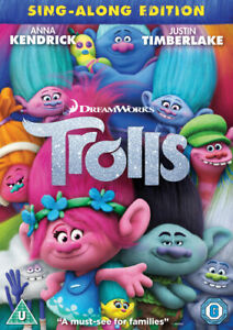 Trolls DVD (2017) Mike Mitchell cert U Highly Rated eBay Seller Great Prices