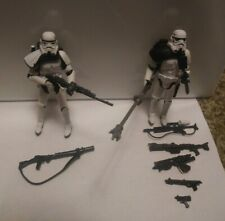 """Star Wars IMPERIAL SANDTROOPER 3.75"""" Saga / Vintage Collection Action Figure Set"""