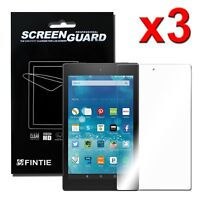 3pcs Clear Screen Protector for New Amazon Fire HD 8 8th Generation 2018 Tablet