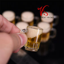 1/6 Scale Fluid Beer Mug Foam High Quality Action Figure Scene Prop