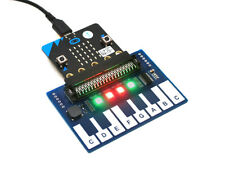 Mini Piano Module for micro:bit to Play Music TTP229 Touch Keys 4x RGB LEDs