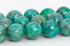 Natural Peacock Green Turquoise Beads Grade AAA Round Loose Bead 6/8/10/12MM