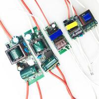 LED Driver Constant Current 1-36W Adapter 85V-265V Lot TransformerAC-DC supply
