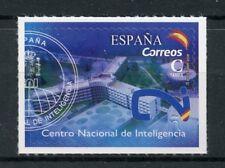 España 2018 estampillada sin montar o nunca montada Centro Nacional de Inteligencia 1 V S/un conjunto de sellos militar