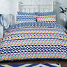 Geometric Bedding Set Duvet Cover Luxury Super King Single Double King Quilt New