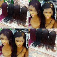 Handmade African Braided Cornrow wigs