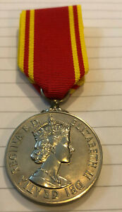 Fire Brigade Long Service Medal to a Female Firefighter! Scarce!