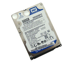 "WD sata 500gb 2.5"" Blue Laptop Hard Disk Drive 5400 RPM 9.5mm 1 anno garanzia"