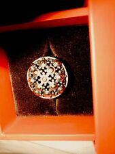 John Hardy 18K/ 925 Silver Jaisalmer Cocktail Ring Size 9