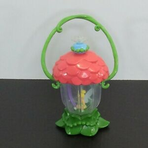 Disney TINKERBELL Talking Light Up Lantern Sound Fairy Toy Blue Twist Top
