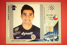 PANINI CHAMPIONS LEAGUE 2012/13 N. 146 ESTRADA MONTPELLIER BLACK MINT!
