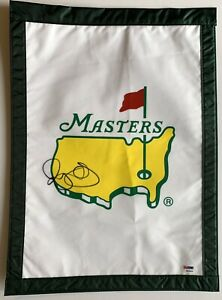 Rory Mcilroy signed Masters flag augusta national golf beckett coa 2021 masters