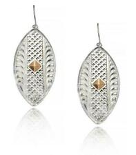 Montana Silversmith Rose Gold and Silver Earrings
