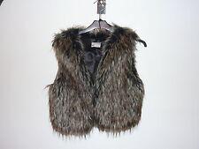 Faux Fur Petite Waistcoats for Women