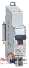 Disjoncteur unipolaire+neutre DNX3 10A Auto/Auto Legrand 406782