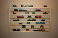 THREE Train Rack MEGA Thomas Friends display storage wall shelf wooden railway