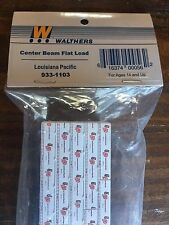 Walthers HO Center Beam Flat Load (Louisiana Pacific) Item #933-1103