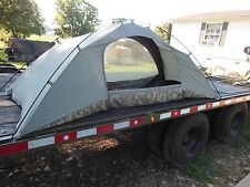 MILITARY SURPLUS ICS IMPROVED COMBAT SHELTER ONE MAN TENT CAMPING BACKPACKING US