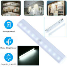 10Led Motion Sensor Light Wireless Night Cabinet Closet Battery Powered Portable