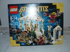 Rare* Lost City Of Atlantis * 7985 Lego Retired *New in Factory Sealed Box
