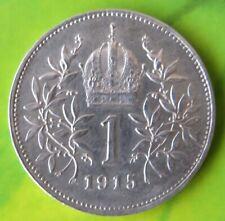 Österreich 1 Krone 1915, Kaiserreich Franz Josef I., Silbermünze