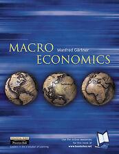 Macroeconomics: European Approach by Manfred Gartner (Paperback, 2002)
