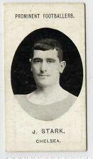 (Gl172-386) Taddy, Prominent Footballers, J.Stark, Chelsea 1907 VG-EX