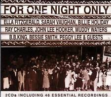 FOR ONE NIGHT ONLY - VARIOUS ARTISTS (NEW SEALED 2CD)