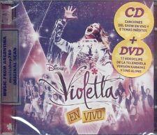 CD + DVD SET VIOLETTA EN VIVO SEALED NEW 2013 LIVE