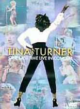 Tina Turner: One Last Time Live in Concert by David Mallet DVD