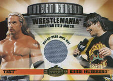 EDDIE GUERRERO vs TEST 2001 Fleer WWE Championship Clash EVENT USED RING MAT