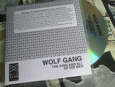 Wolf Gang - The King And All Of His Men Label: Hit Club – Promo CD Single