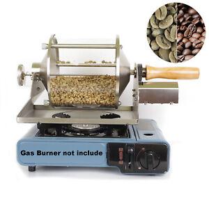 Home Coffee Roaster Kitchen Stove Coffee Bean Roasting Machine Gas Burner Using