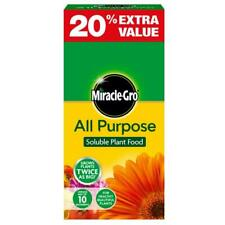 Miracle-Gro All Purpose Soluble Plant Flower Food, 10 Nutrients 1kg - 20% Extra