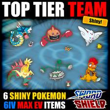 Pokemon und Schwert Schild ⚔ Full Battle Ready Team 🛡 6iv glänzend-Gyarados +