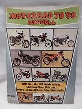 Katalog Motorräder Mofas Zweirad Oldtimer Youngtimer 1979/80 vintage catalogue
