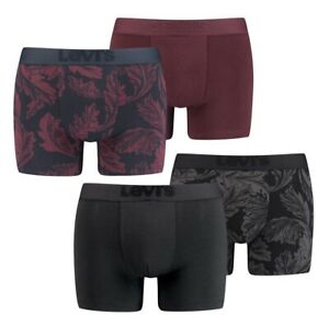 LEVIS MEN PREMIUM FOREST LEAF AOP 2er Pack Boxer Shorts Unterhose Boxershorts